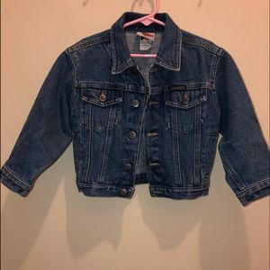 Kids Harley Davidson Denim Jacket